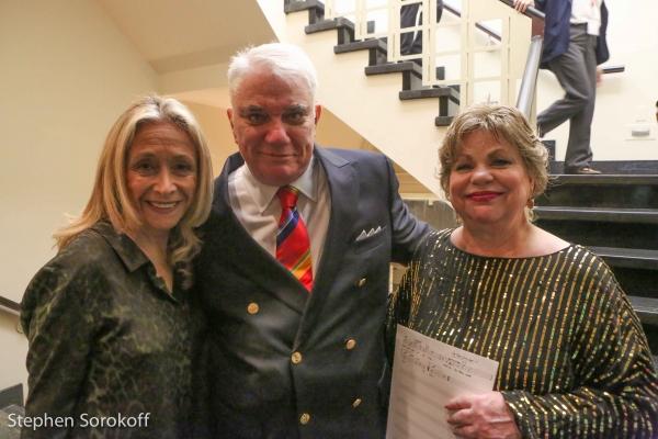 Eda Sorokoff, Rex Reed, Joyce Breach