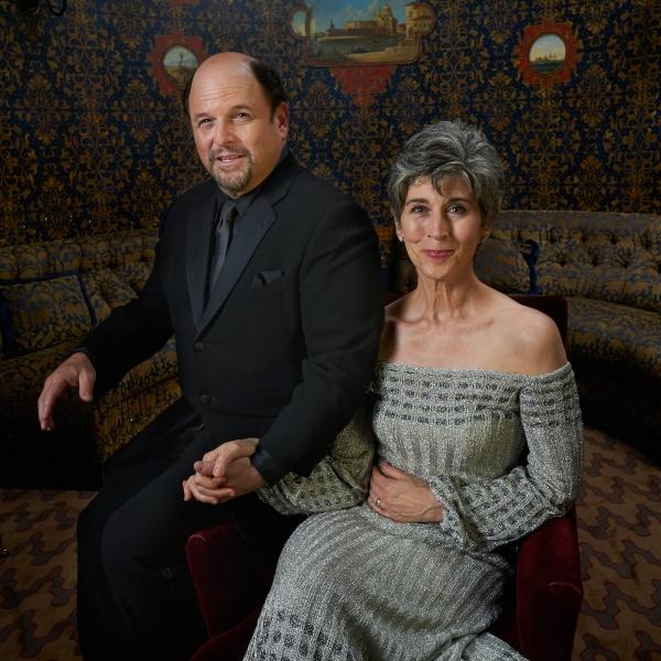 Jason Alexander and wife Daena