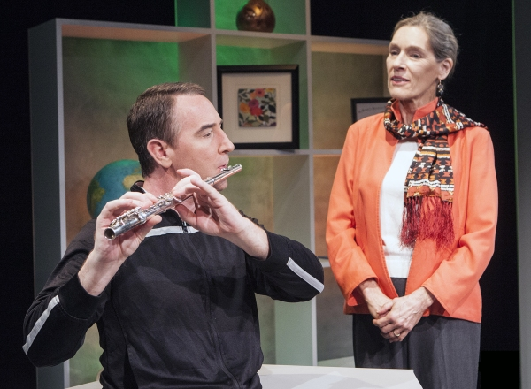 Photo Flash: First Look at UNCANNY VALLEY at Capital Stage