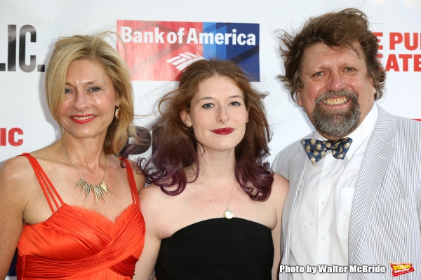 Laurie Eustis, Kylie Brown and Oskar Eustis