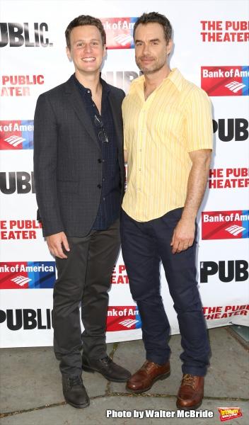 Jonathan Groff and Murray Bartlett