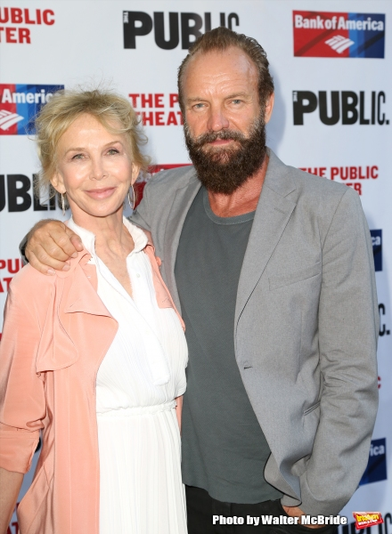 Trudie Styler and Sting  Photo