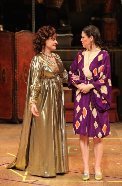 Patti LuPone and Zoe Winters