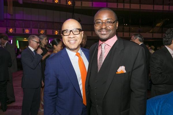 AAADT Artistic Director Robert Battle with Gala Honoree Darren Walker.