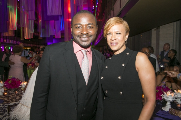 AAADT Artistic Director Robert Battle with Tonya Lee Lewis at the 2015 Ailey Spirit Gala. Photo by Whitney Browne
