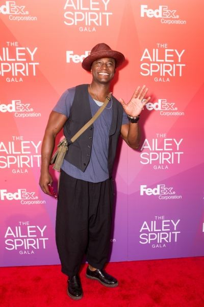 Actor Taye Diggs at the 2015 Ailey Spirit Gala.  Photo by Dario Calmese Jr.