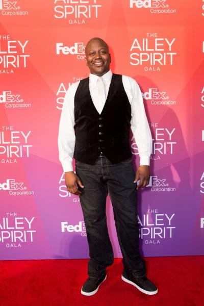 Actor Tituss Burgess at the 2015 Ailey Spirit Gala. Photo by Dario Calmese Jr.