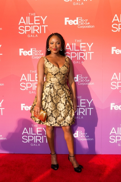 Actress Naturi Naughton at the 2015 Ailey Spirit Gala. Photo by Dario Calmese Jr.