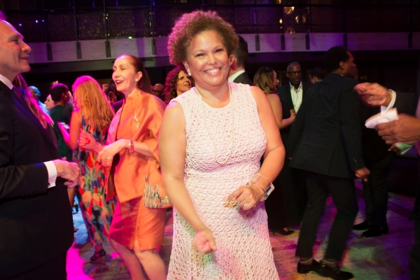 AAADT Board President Debra L. Lee at the 2015 Ailey Spirit Gala. Photo by Dario Calm Photo