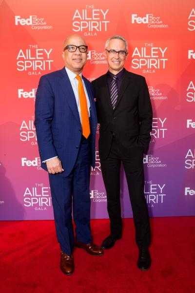 Gala Honoree Darren Walker and Executive Director Bennett Rink.  Photo