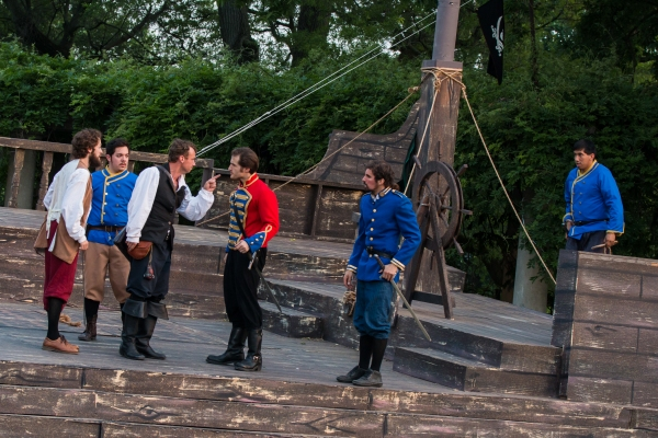 Photo Coverage: First Look at Actors' Theatre of Columbus' CAPTAIN BLOOD