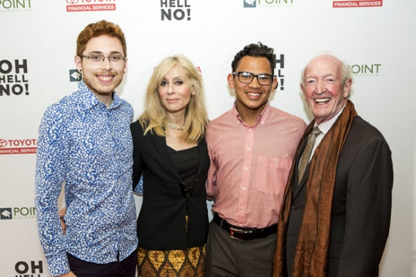 Isaias Guzman, Judith Light, Adrienne Adams, Herb Hamsher Photo