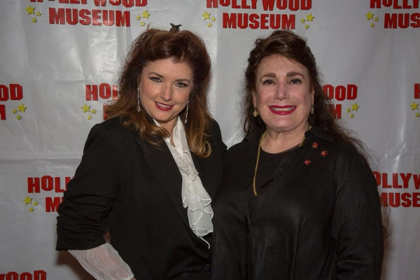 Morgan Brittany and Museum Founder and President, Donelle Dadigan