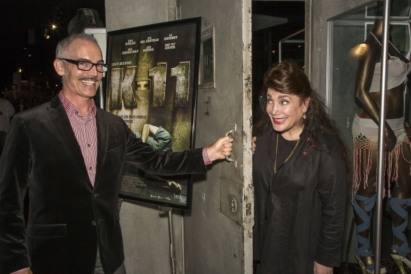 Councilman Mitch O''Farrell, Hollywood Museum President and Founder Donelle Dadigan