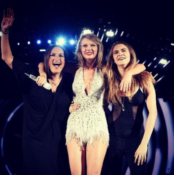Mariska Hargitay, Taylor Swift, Cara Delevingne