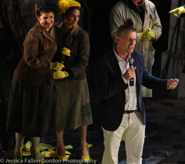 Tom Kirdahy and the Cast