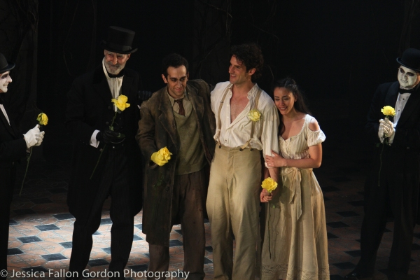 George Abud, John Riddle and Michelle Veintimilla