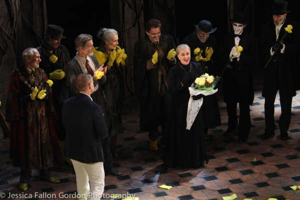 Tom Kirdahy, Chita Rivera and the Cast