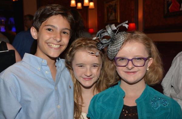 Andrew DiTusa, Abigail Shapiro and Milly Shapiro