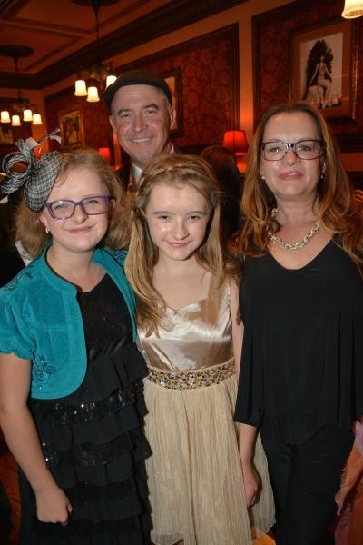Milly Shapiro, Eric Shapiro, Abigail Shapiro and Michelle Shapiro