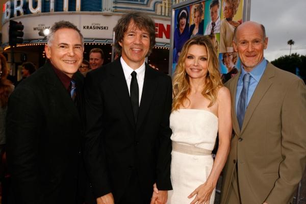 Los Angeles premiere of HAIRSPRAY: Craig Zadan, David E. Kelley, Michelle Pfeiffer & Neil Meron