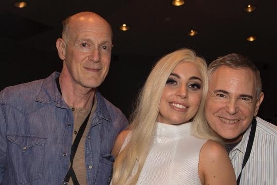 Neil Meron, Lady Gaga & Craig Zadan