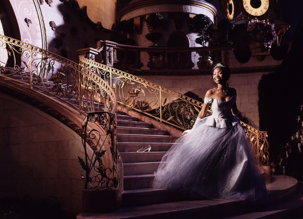 Brandy as Cinderella in the Rodgers & Hammerstein musical.