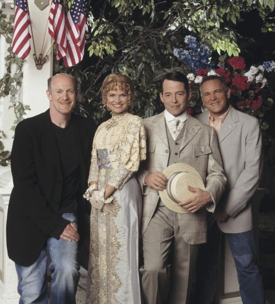 THE MUSIC MAN: Neil Meron, Kristin Chenoweth, Matthew Broderick & Craig Zadan