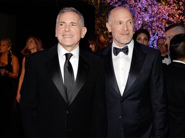 Craig Zadan & Neil Meron, post-86th Oscars telecast at the Governors Ball.