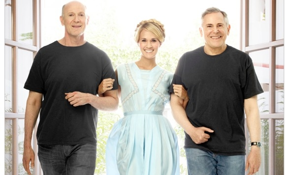 THE SOUND OF MUSIC LIVE: Neil Meron & Craig Zadan with their Maria, Carrie Underwood.