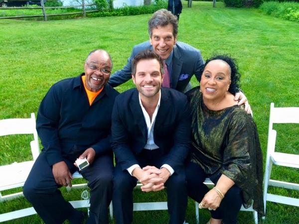 Ken Prymus, Cole Burden, Jonathan Brielle, Roz Ryan Photo