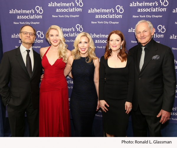 Tony Award winning actor David Hyde Pierce; Ashley Campbell, daughter of Country Music     Hall of Fame singer-songwriter Glen Campbell; event honoree Kim Campbell, wife of Country Music Hall of Fame singer-songwriter Glen Campbell; Academy Award winning