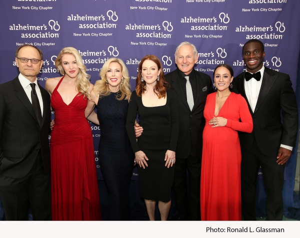 Tony Award winning actor David Hyde Pierce; Ashley Campbell, daughter of Country Music Hall of Fame singer-songwriter Glen Campbell; event honoree Kim Campbell, wife of Country Music Hall of Fame singer-songwriter Glen Campbell; Academy Award winning actr