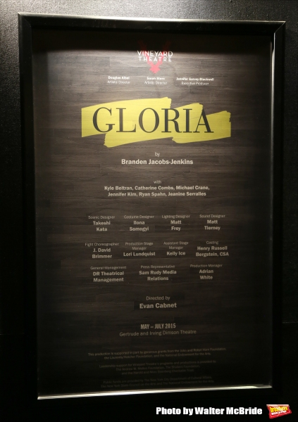 Photo Coverage: Inside GLORIA's Opening Night at The Vineyard Theatre
