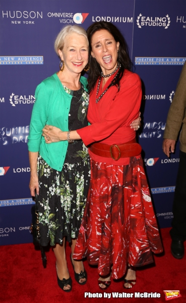 Helen Mirren and Julie Taymor