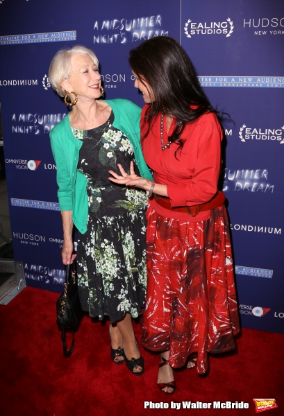 Helen Mirren and Julie Taymor