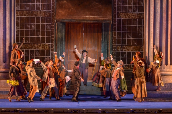 Photo Flash: First Look at Alexandra Silber, Anthony Andrews & More in MY FAIR LADY at The Muny
