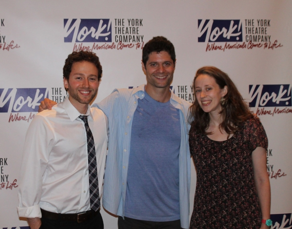 Benjamin Velez with mentor Tom Kitt and Kathryn Hathaway