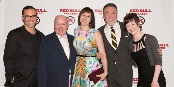 Photo Flash: Red Bull Theater Honors Jack O'Brien, Martha Plimpton and the Off-Broadway Angels