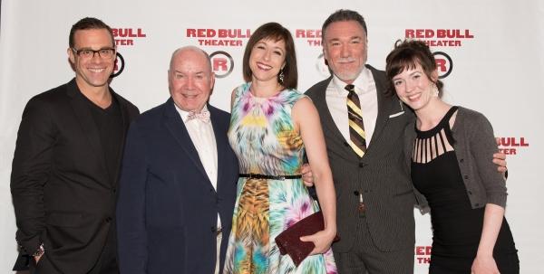 Matthew Rauch, Jack O'Brien, Paige Davis, Patrick Page, and Amelia Pedlow Photo