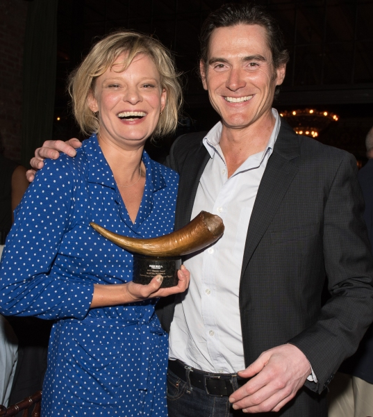 Martha Plimpton and Billy Crudup