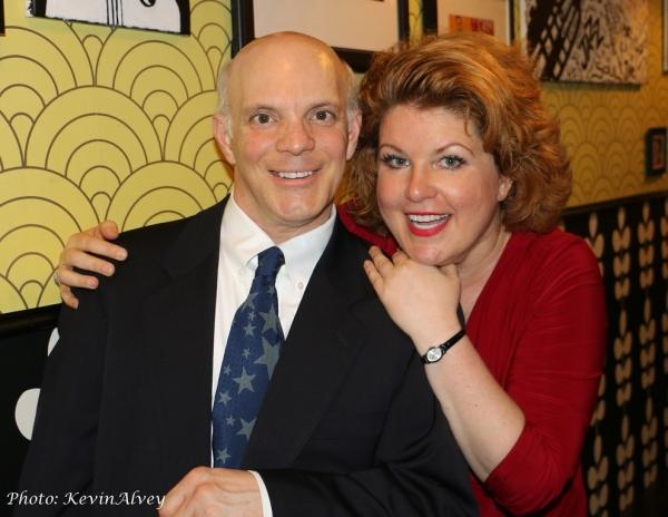 Eddie Korbich and KLea Blackhurst