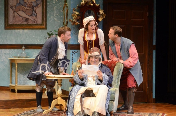 Photo Flash: First Look at THE HEIR APPARENT at ICT