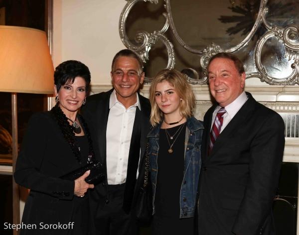 Arlene Lazare, Tony Danza,Emily, Allan Lazare Photo