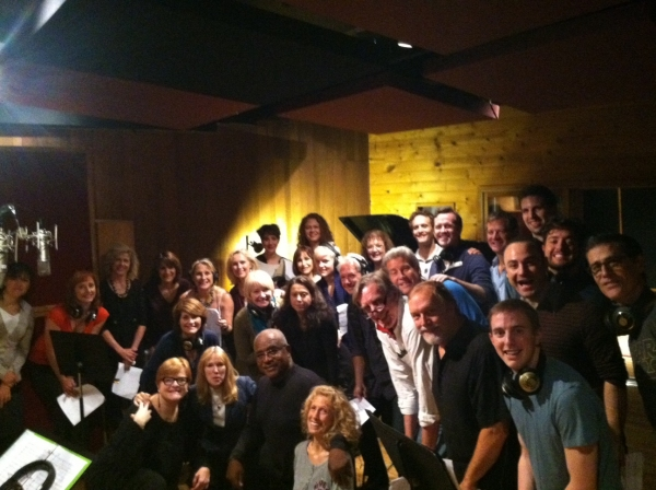 Kristen Blodgette, Dodie Pettit, Butch Jones and the cast of PHANTOM