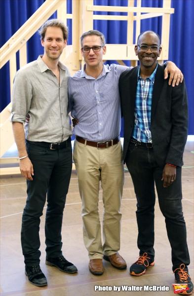 David Korins, Nevin Steinberg and Paul Tazewell Photo