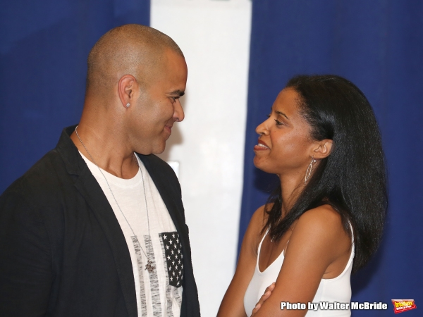 Photo Coverage: History is Happening in Manhattan-Rehearsals Begin for HAMILTON on Broadway!