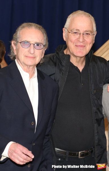 Producer Sander Jacobs and Alexander Hamilton author Ron Chernow