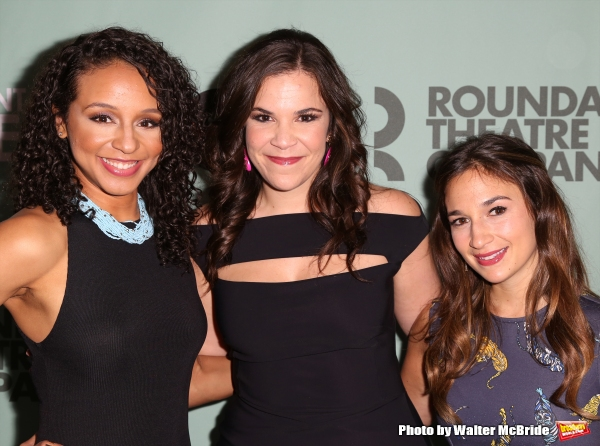 Carra Patterson, Lindsay Mendez and Sas Goldberg