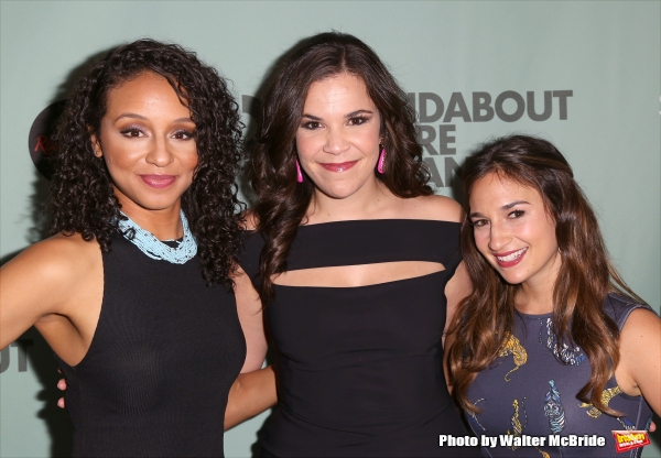 Carra Patterson, Lindsay Mendez and Sas Goldberg